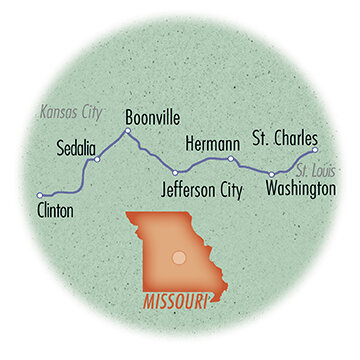 Missouri: Katy Trail Tour