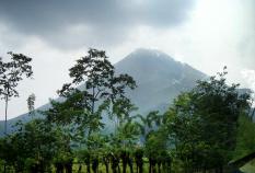 Mountain view Costa Rica Bike Tour