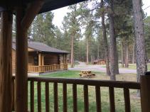 cabin view South Dakota Bike Tour