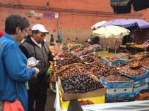 Food market Morocco Bike Tour
