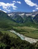 Mountain Scenery Albania Bike Tour