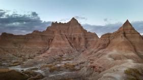 Scenic mountain view South Dakota