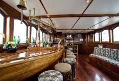 The bar of the Mare Van Frysland