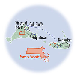 Massachusetts Island Hopper: Nantucket and Martha's Vineyard