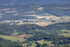 Mountain Top View Blue Ridge Bike Tour