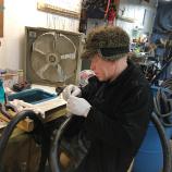repairing bike tires R Community Bikes