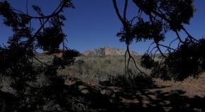 mountain view near St. George, Utah