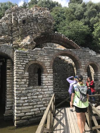 Ruins Albania Bike Tour