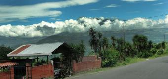 Sky line view Costa Rica Bike Tour
