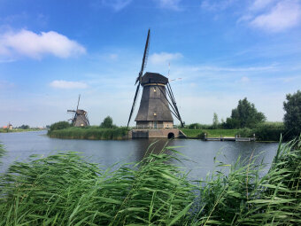 Windmill Holland Bike and Barge Bike Tour