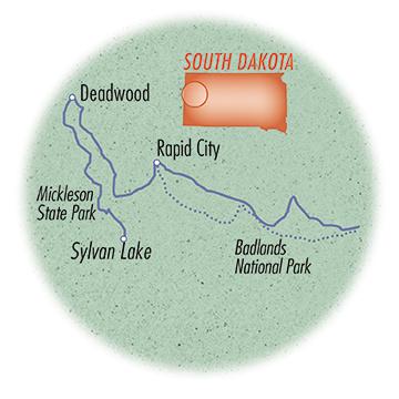 South Dakota: Black Hills, Badlands & Mickelson Trail