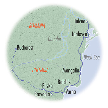 Danube Delta and the Black Sea: Bulgaria & Romania