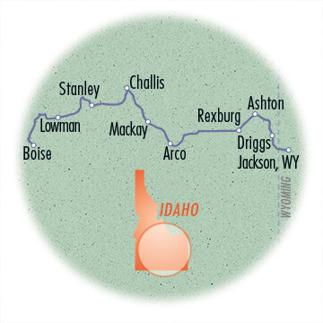 Ride Across Idaho Epic Tour