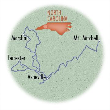North Carolina: Asheville's Land of the Sky
