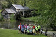 Group Photo Blue Ridge Bike Tour