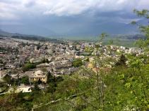 City during Albania Bike Tour