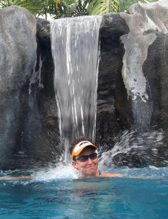 Enjoying the water Costa Rica Bike Tour