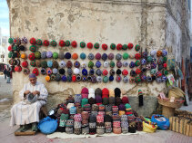 Hat salemans Morocco Bike Tour