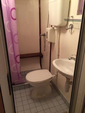 Croatia Cabin Bathroom