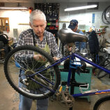 Fixing a bike R Community Bikes