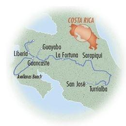 Costa Rica: Volcanoes & Rivers