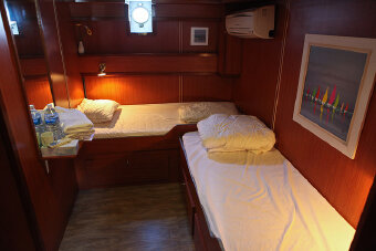 L'Estello France Bike & Barge Cabin