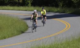 Bike Rider Blue Ridge Bike Tour