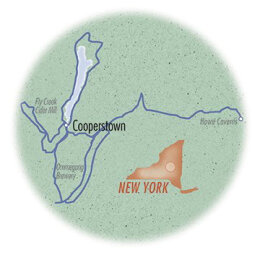 NY: Cooperstown and Lake Glimmerglass