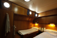 Barge room accommodations Italy Bike and Barge Bike Tour