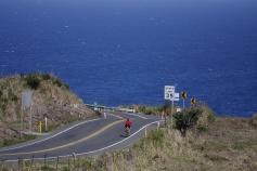 View of ocean and bike path Hawaii Bike Tour