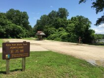 State park during Katy Trail Bike Tour