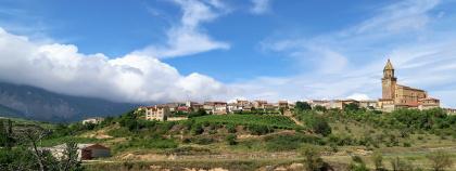 small village view Spain Camino de Santiago bike tour