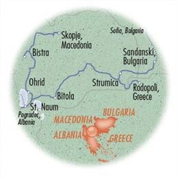 Balkans: Macedonia, Greece & Bulgaria