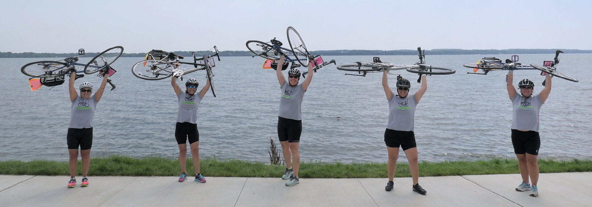Five women on Finger Lakes bike tour