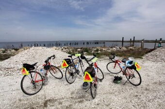 Rental bikes and the beach Jersey Shore Bike Tour