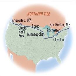 Northern Tier: Western Half