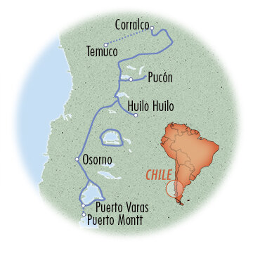 Chile: Lake & Volcano District