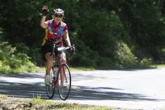 Rider Blue Ridge Bike Tour