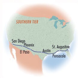 Cross-Country: Southern Tier