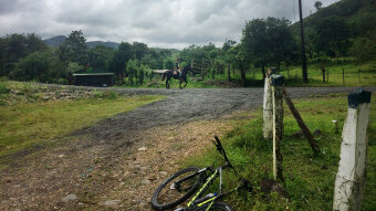 Horse riding Costa Rica Bike Tour