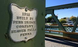 Bridge build in 1913 Erie Canal Bike Tour