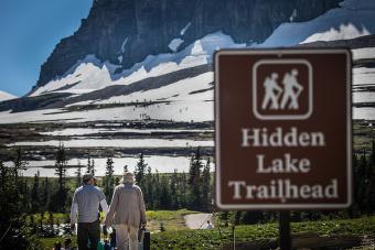 Glacier National Park Hidden Lake Trail