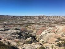 Rocky terrain view South Dakota Bike Tour